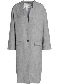 Halston Heritage Woman Woven Jacket Light Gray