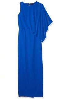 Halston Heritage Women's Asymmetric Overlay Gown