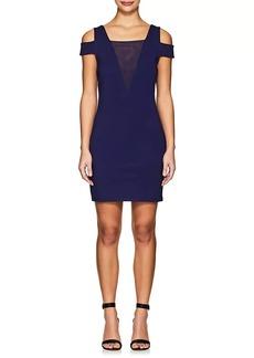 Halston Heritage Women's Cold-Shoulder Fitted Dress
