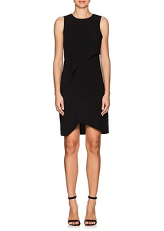 Halston Heritage Women's Crepe Tiered Dress