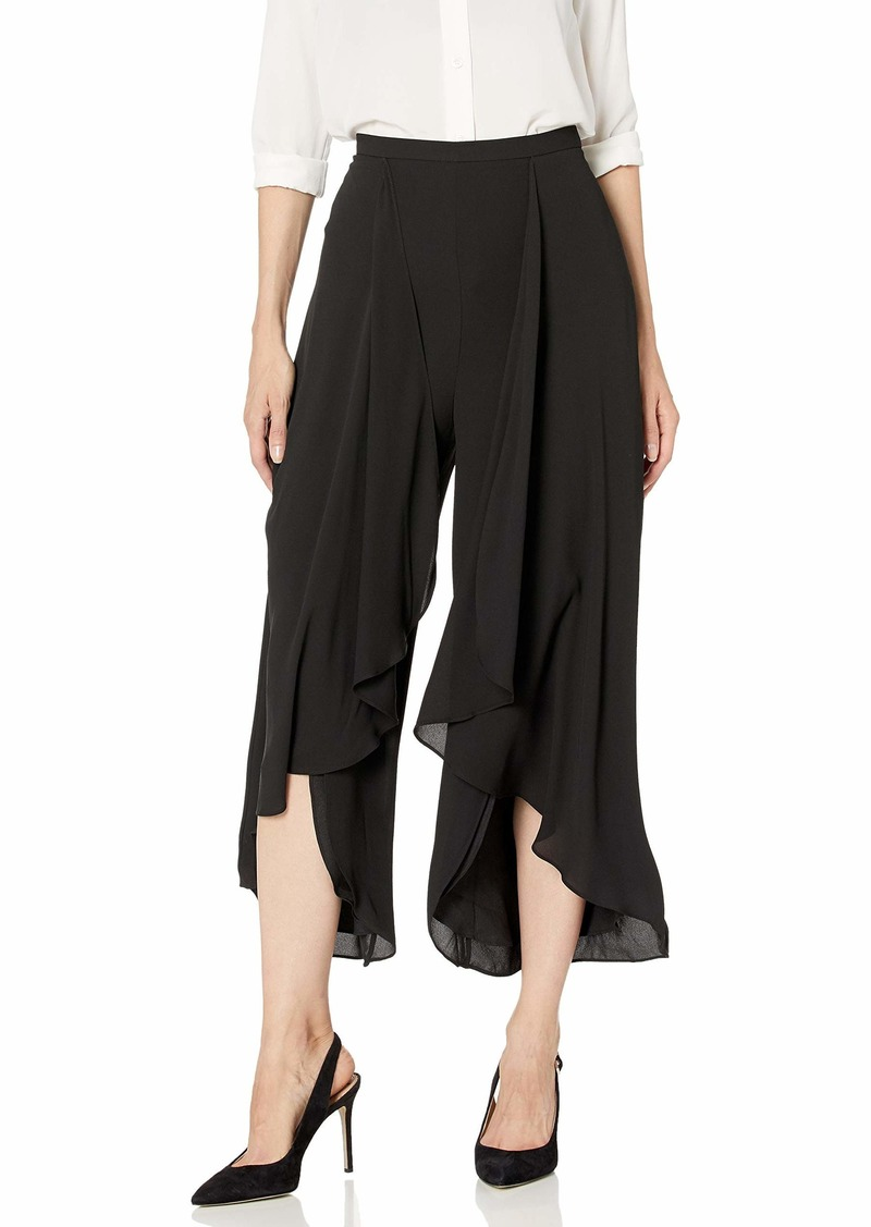 Halston Heritage Women's Draped Flowy Pants