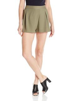 Halston Heritage Women's Faux Wrap Shorts