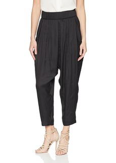 Halston Heritage Women's Flowy Ruched Pant