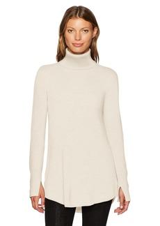 Halston Heritage Women's Long Sleeve Cowl Back Tunic Sweater  M