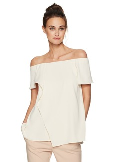 Halston Heritage Women's Off The Shoulder Top