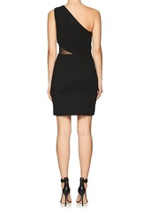 Halston Heritage Women's One-Shoulder Ponte Dress
