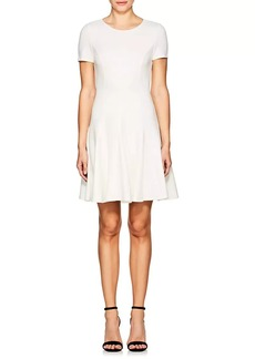 Halston Heritage Women's Ponte Fit & Flare Dress