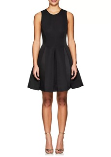 Halston Heritage Women's Sleeveless Fit & Flare Dress