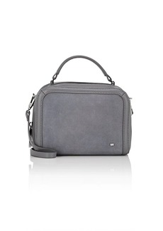 Halston Heritage Women's Small Leather & Suede Camera Bag - Gray