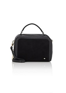 Halston Heritage Women's Small Leather & Suede Camera Bag - Black