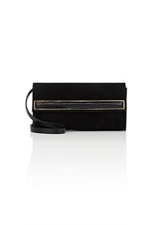 Halston Heritage Women's Small Suede Clutch