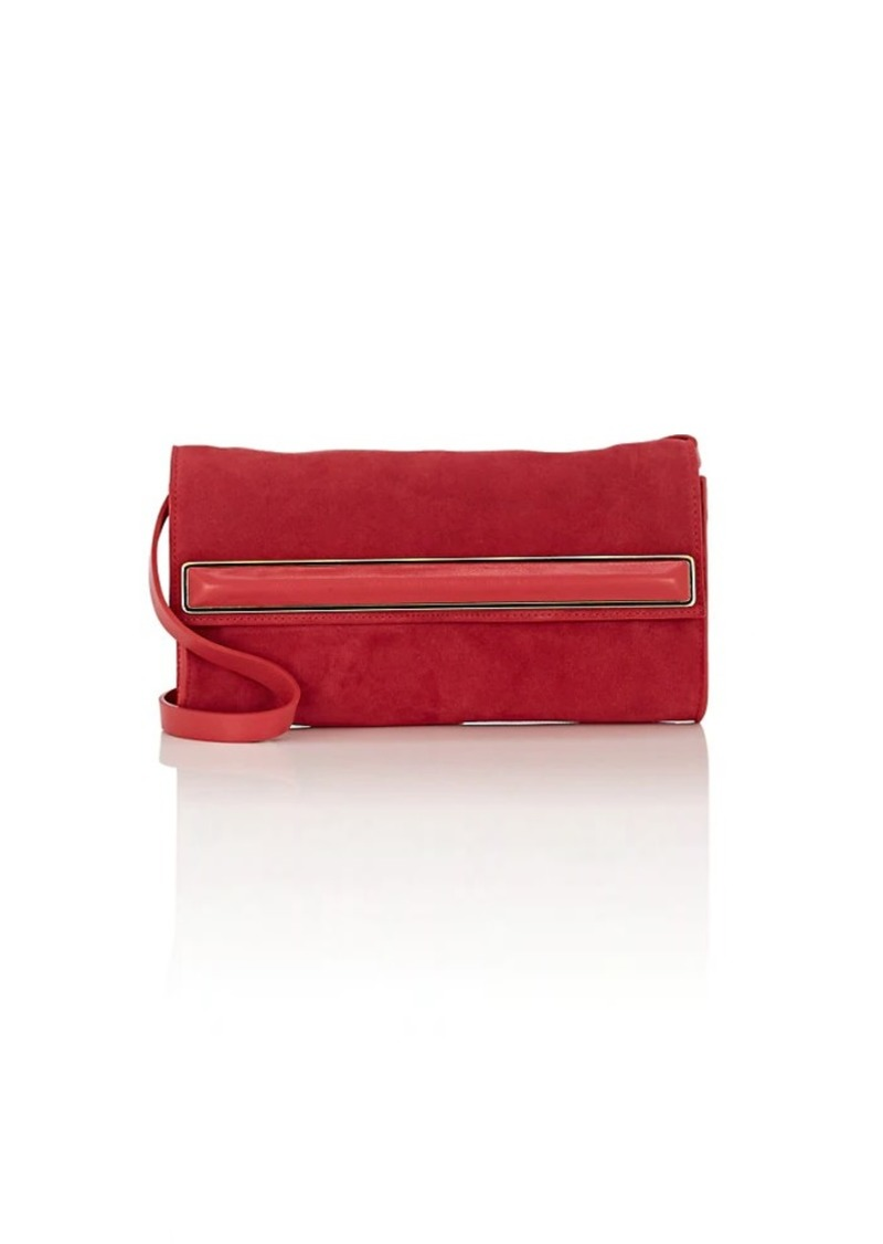 Halston Heritage Women S Small Suede Clutch