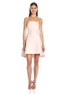 Halston Heritage Women's Strapless Structured Dress