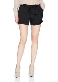 Halston Heritage Women's Tie Waist Shorts