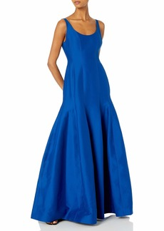 Halston Heritage Women's Tulip Evening Gown