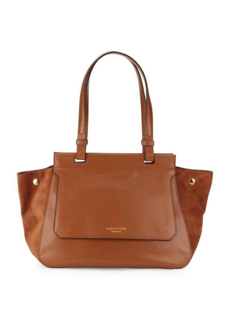 c0a96fdd75 Halston Heritage Halston Heritage Zipped Leather Handbag