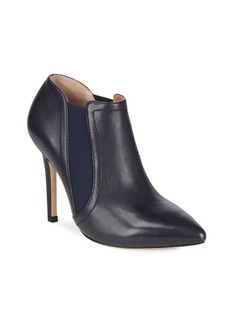 Halston Heritage Zippered Leather Booties
