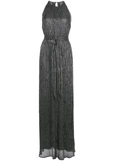 Halston Heritage halter-neck maxi dress