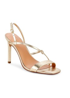 Halston Heritage Isla Stiletto Heel Leather Sandals