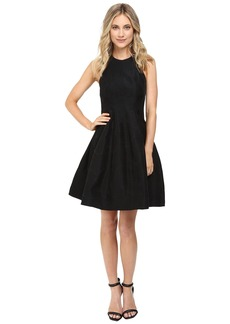 Halston Heritage Jacquard Structure Dress