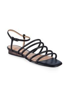 Halston Heritage Leandra Leather Sandals
