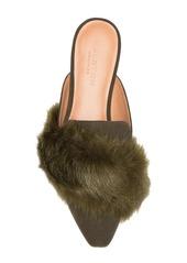 Halston Heritage Lisa In SardInia Faux Fur Mule