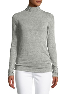 Halston Heritage Long-Sleeve Turtleneck Sweater