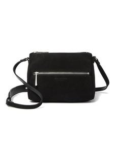 Halston Heritage Medium Suede Crossbody Bag