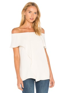 Halston Heritage Off The Shoulder Top