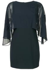Halston Heritage oversized sleeve dress