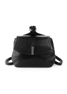Halston Heritage Medium Pebbled Leather Backpack