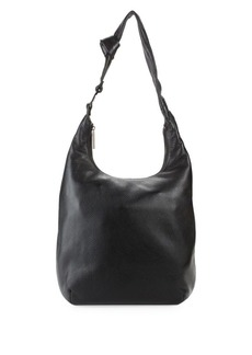 Halston Heritage Pebbled Leather Hobo Bag
