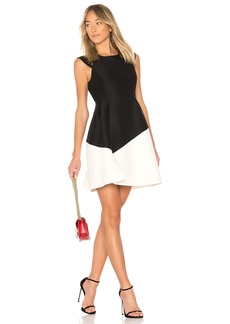 Round Neck Color Block Dress