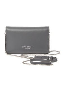 Halston Heritage Small Leather Crossbody Clutch