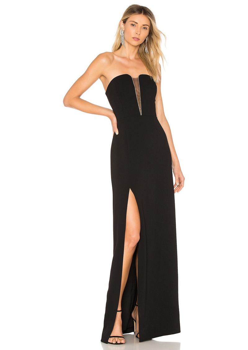 ee088adece8 Halston Heritage Strapless Fitted Gown
