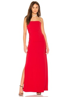 Strapless Ruched Side Dress
