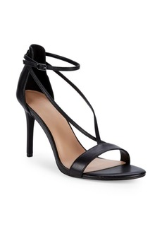 Halston Heritage Strappy Stiletto Sandals