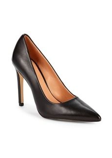 Halston Heritage Teri Stiletto Heel Leather Pumps
