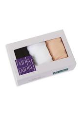 Hanky Panky 3-Pack Cotton Original-Rise Thongs