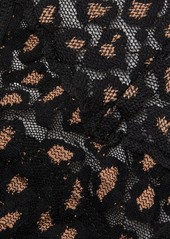 Hanky Panky Cross-Dyed Leopard Low-Rise Thong