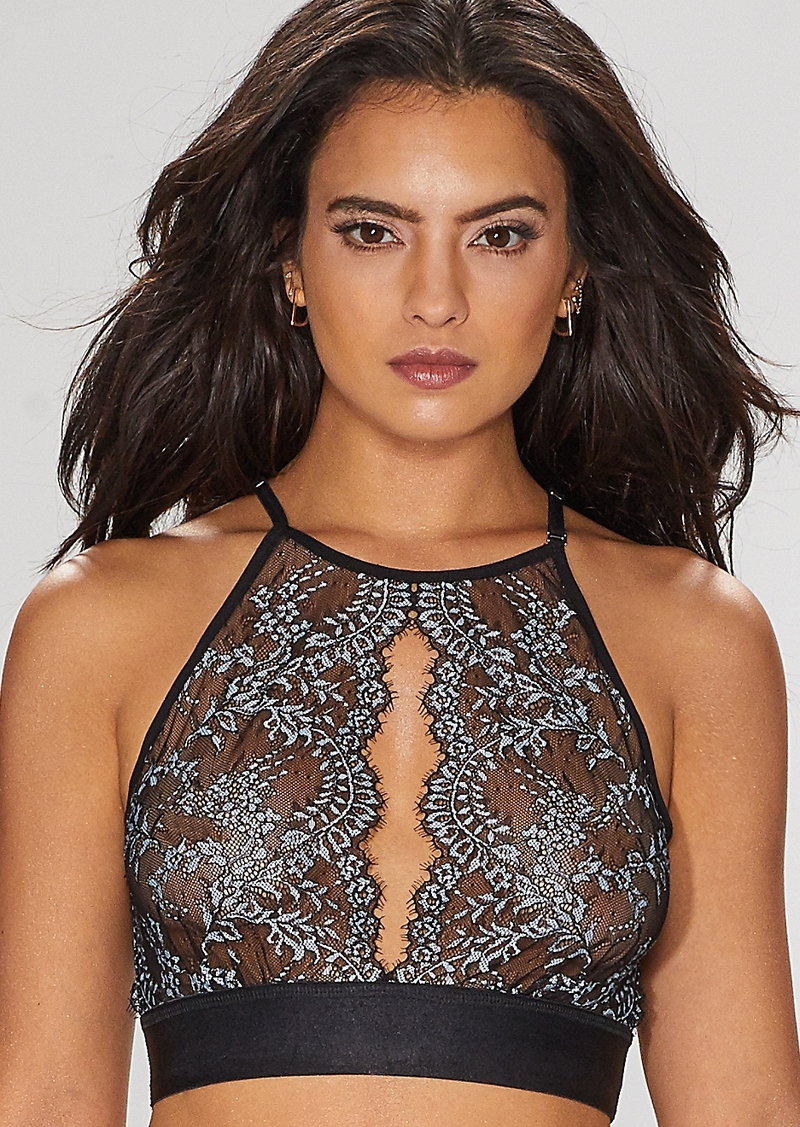 558b30f699 Hanky Panky Hanky Panky + After Midnight Lavinia High Neck Bralette ...