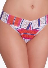 Hanky Panky + Cabana Stripe Original Rise Thong