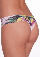 Hanky Panky + Tropical Bloom Low Rise Thong