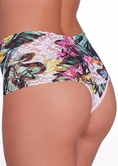 Hanky Panky + Tropical Bloom Retro Thong