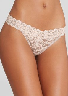 Hanky Panky Cross-Dyed Signature Lace Original-Rise Thong
