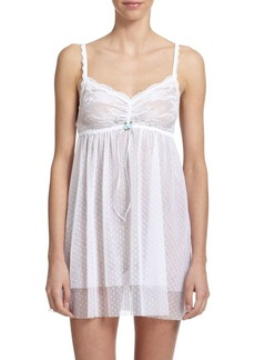 Hanky Panky Dotted Tulle Chemise
