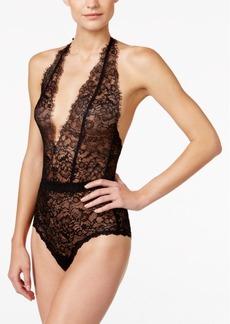 Hanky Panky Eyelash-Lace Bodysuit 4T8504