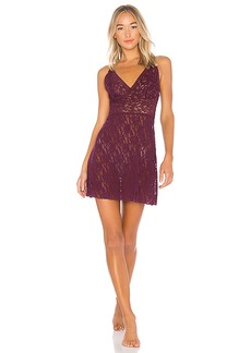 Hanky Panky Retro Plunge Chemise in Wine. - size M (also in L,S)