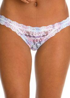 Hanky Panky Tied N True Tie-Dye Signature Lace Brazilian Bikini