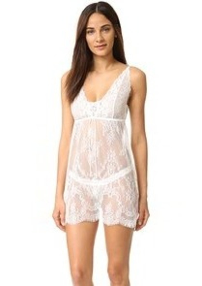 a2ac51c0a7b142 Hanky Panky Hanky Panky Victoria Lace Chemise with G-String